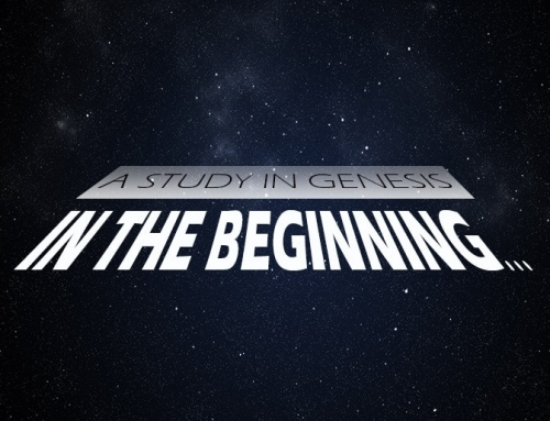 In The Beginning: Genesis 12:1-3