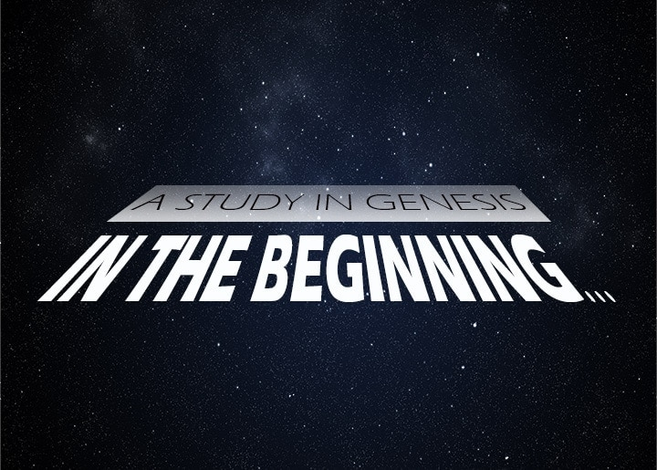 In The Beginning Series Logo 2