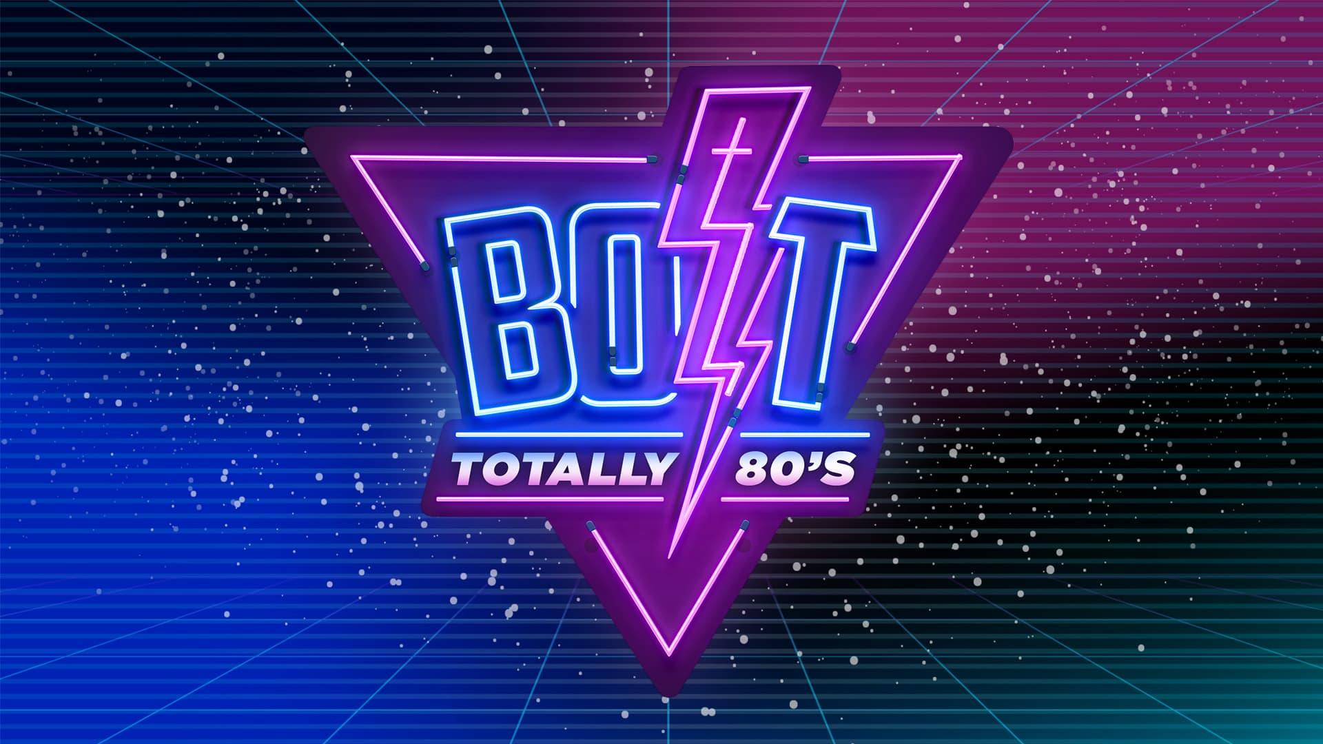 BOLT Totally 80's Title Slide